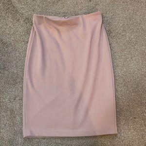 Philosophy Pink Pencil Skirt